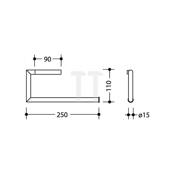 WC-Papierhalter 2-fach 162.21.200XC VA spiegelpol.