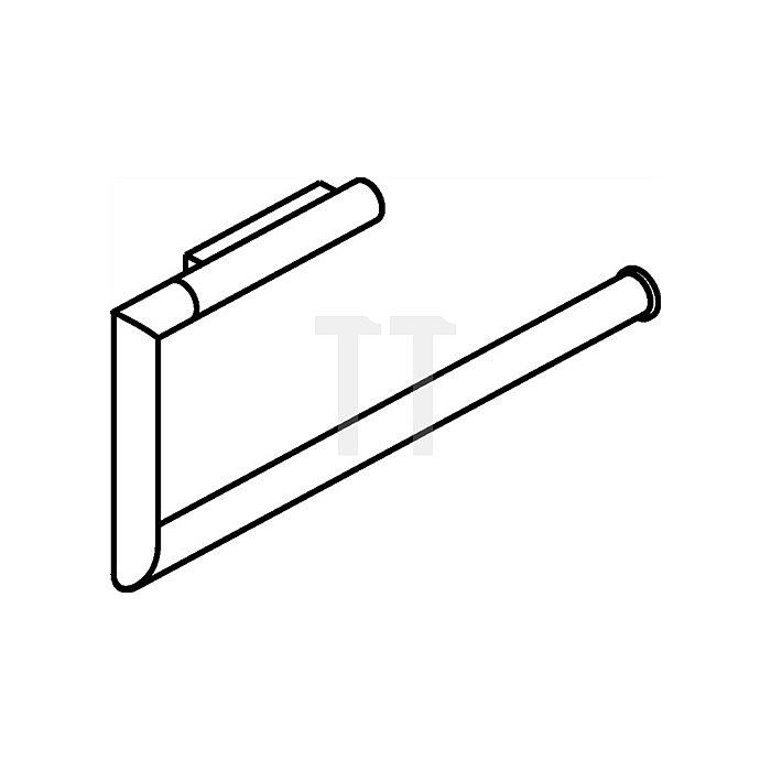WC-Papierhalter 2-fach VA matt-geschliffen