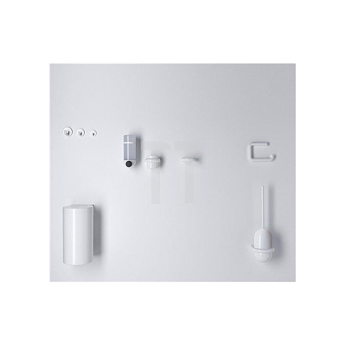 WC-Papierhalter 477.21.100 97 Polyamid lichtgrau