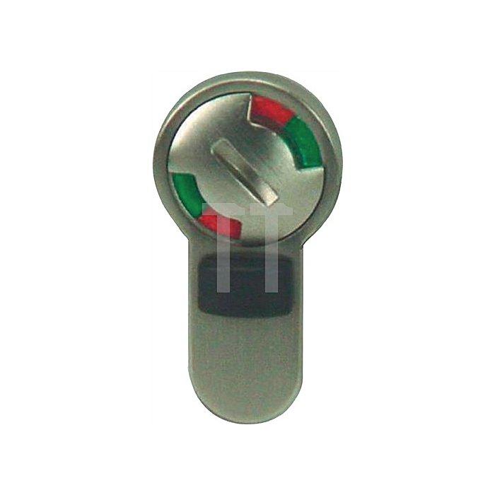 WC/Bad- Modul für Bundbart vorgerichtete Türen Aluminium Druckguß