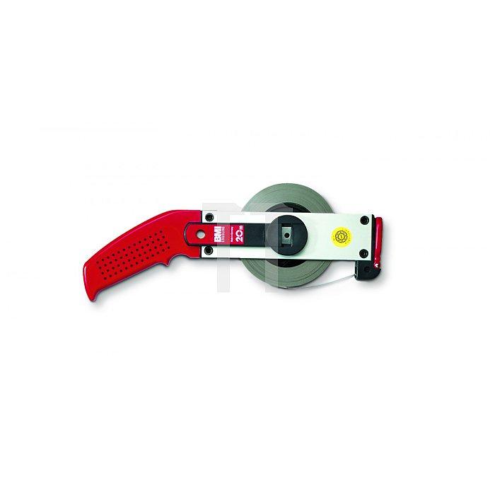 BMI Weisslackiertes Bandmaß, 30m, mm/inch, A 301025030A