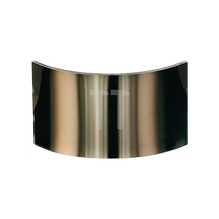 Weitwinkelscheibe b.1000Grad C Polycarbonat Jutec gold bedampft