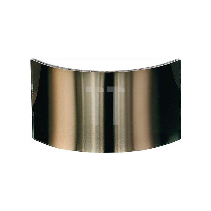 Weitwinkelscheibe b.1000Grad C Verbundglas Jutec gold bedampft