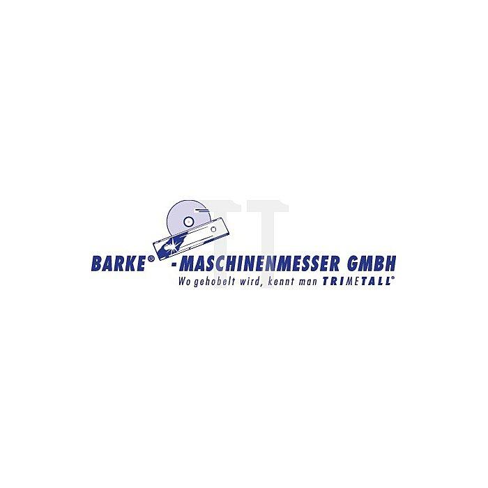 Wendemesser 520x10x2,3mm HSS M42 BARKE