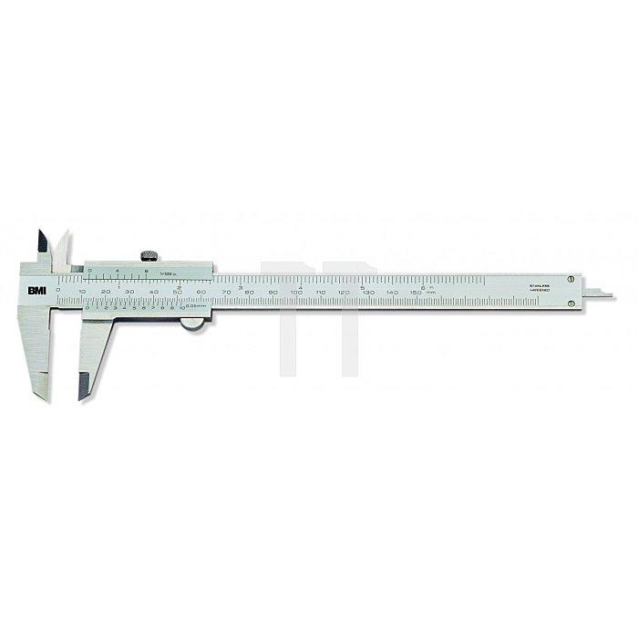 BMI Werkstattmessschieber, Messbereich 150mm 760150