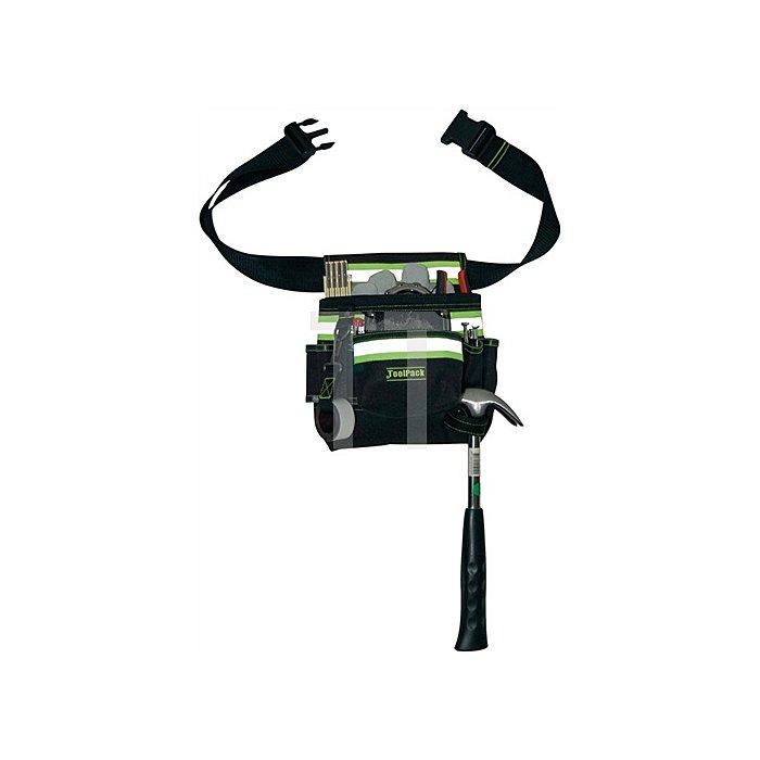 Werkzeuggürteltasche 20x30 cm (BxH) 11 Aufbewahrungsfächer reflektierend Stream