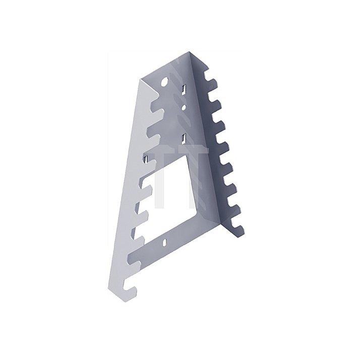 Werkzeughalter 11410 B. 133mm H. 195mm weiss passend zu Stahllochplatten 11400