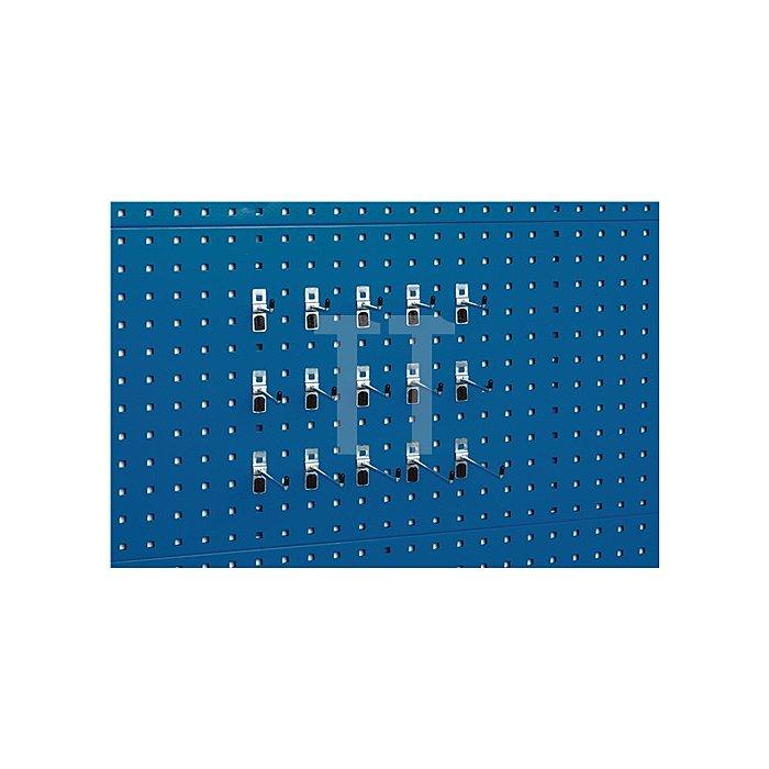 Werkzeughaltersortiment 15tlg. f.Lochplatten Bott
