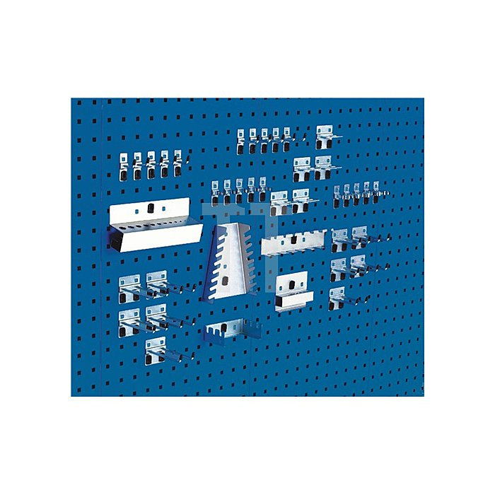Werkzeughaltersortiment 40tlg. f.Lochplatten Bott