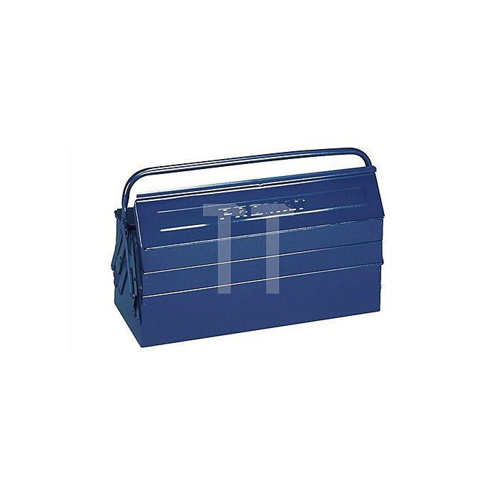 Werkzeugkasten 5tlg. L.530mmxH.200mmxB.200mm blau