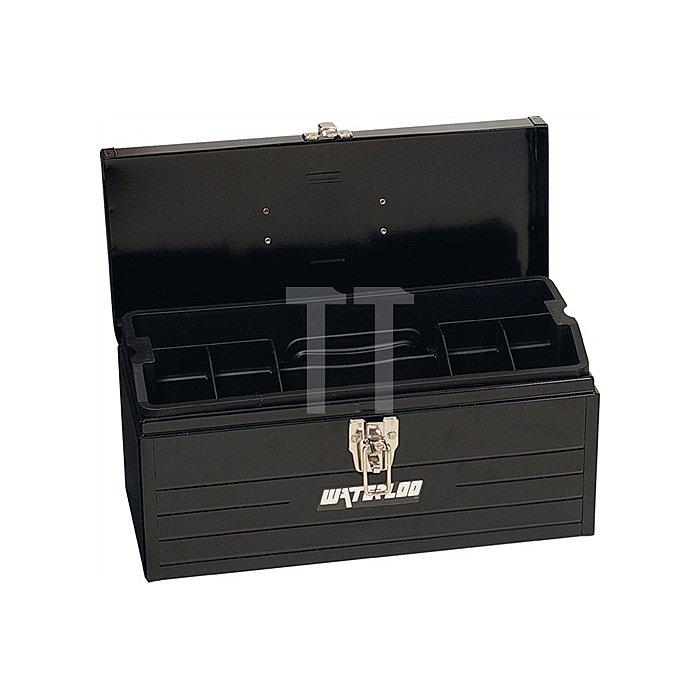 Werkzeugkoffer 1Fach mit Ku.Kleinteileei Koffer aus Stahlblech L.403 T.175 H.188
