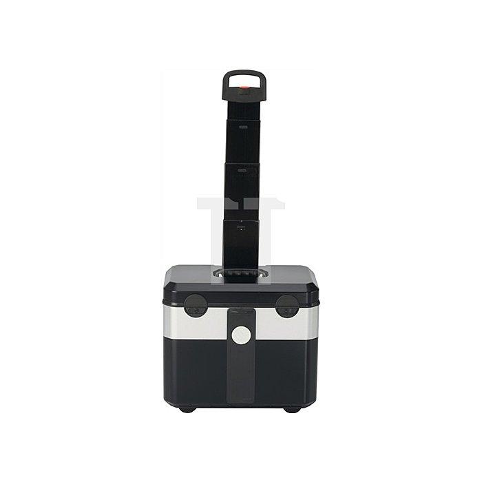 Werkzeugkoffer 230x140x300mm rollbar m.3-tlg. Schubladensatz Klappversion