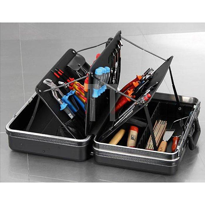 Werkzeugkoffer ABS-pro Schalenkoffer 180 Future schwarz 460 x 200 x 310mm
