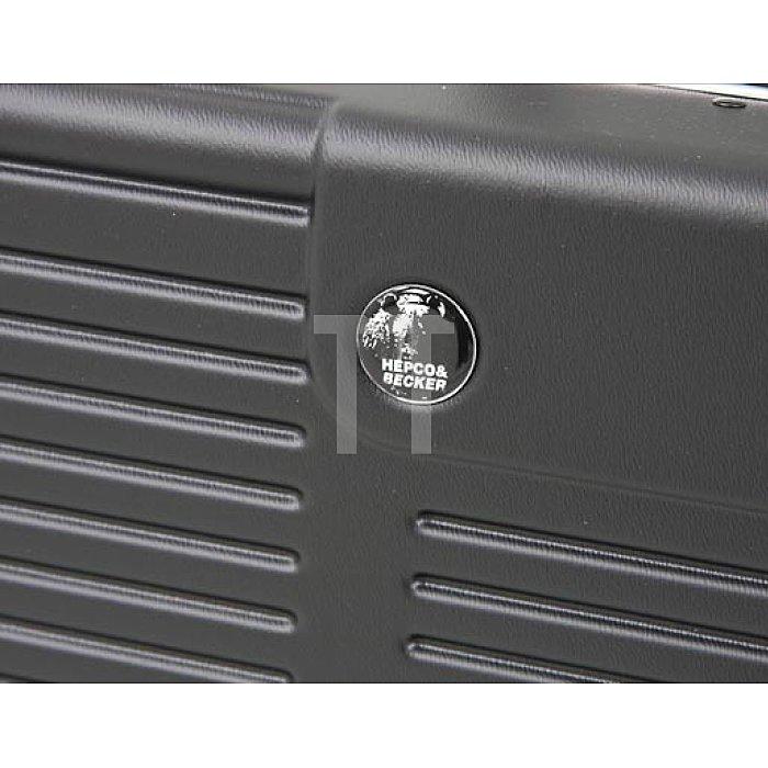 Werkzeugkoffer ABS-pro Schalenkoffer Future schwarz 460 x 180 x 310mm