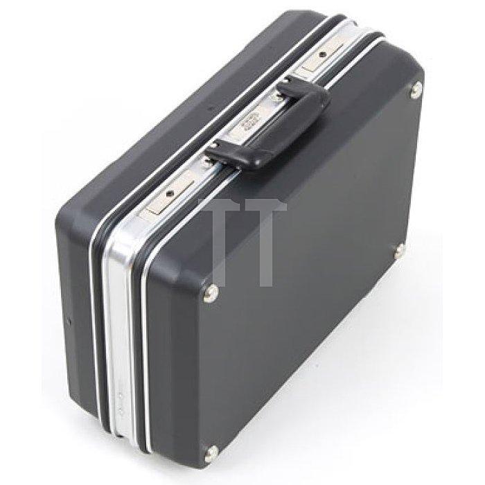 Werkzeugkoffer ABS Schalenkoffer Budget schwarz 460 x 160 x 310mm