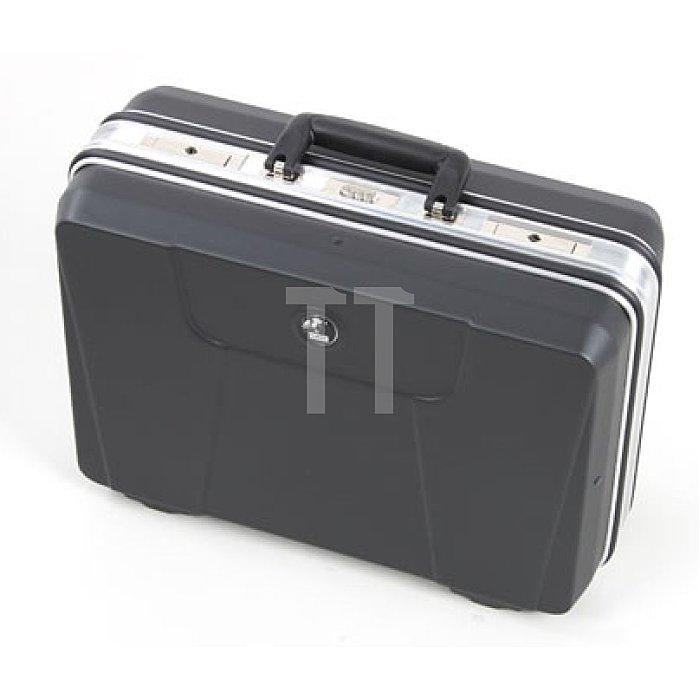 Werkzeugkoffer ABS Schalenkoffer Budget schwarz 460 x 180 x 310mm