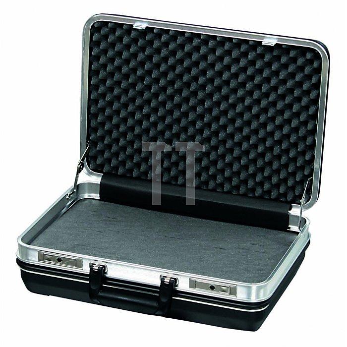 Werkzeugkoffer ABS Schalenkoffer mit PU-Schaum Budget schwarz 460 x 160 x 310mm
