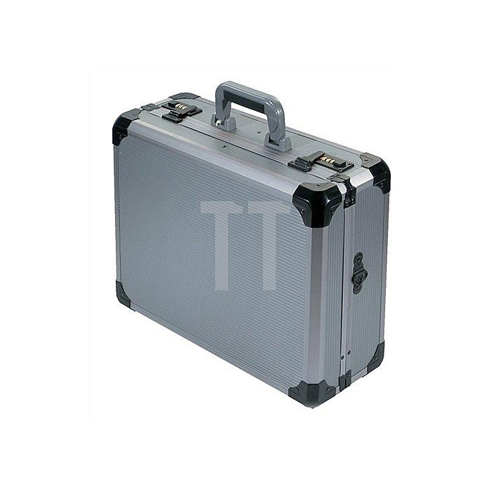Werkzeugkoffer Alu. 460x340x165mm 2Werkzeugtafeln abschließbar