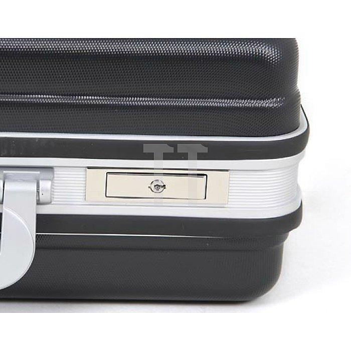 Werkzeugkoffer Basic schlagfestes ABS-Material schwarz 470 x 200 x 360mm