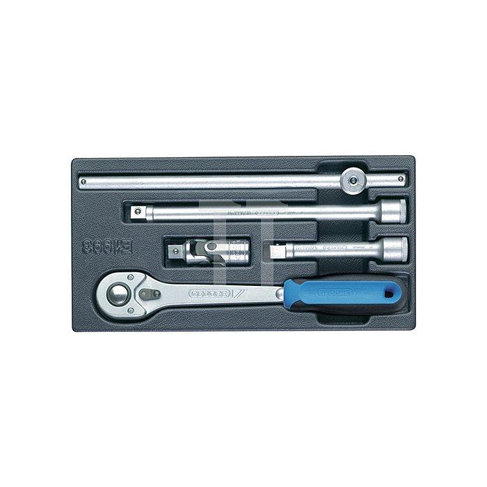 Werkzeugmodul 157,5x310mm 5tlg. Steckwerkzeuge 1/2Zoll