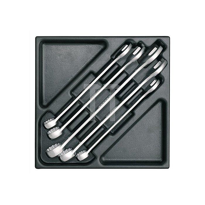 Werkzeugmodul leer f.Ring-Maulschlüssel gerade