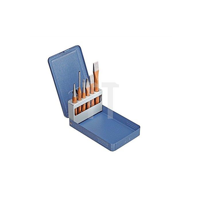 Werkzeugsatz 6tlg. in Metallklappkassette