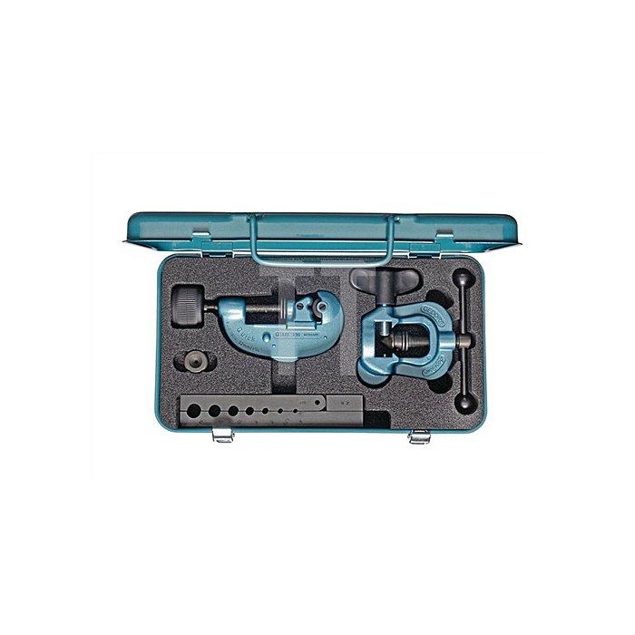 Werkzeugsatz f.Rohre 4/4,75/6/8/10/12/14mm Körper/Spannbacke/Rohrabschneider