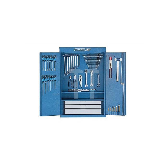 Werkzeugschrank 1400 L u.S1400GM u.ZM m.Sortiment