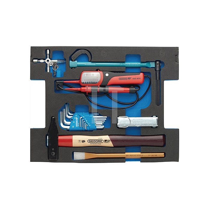 Werkzeugsortiment 44 teilig Sortiment Sanitär in L-Boxx