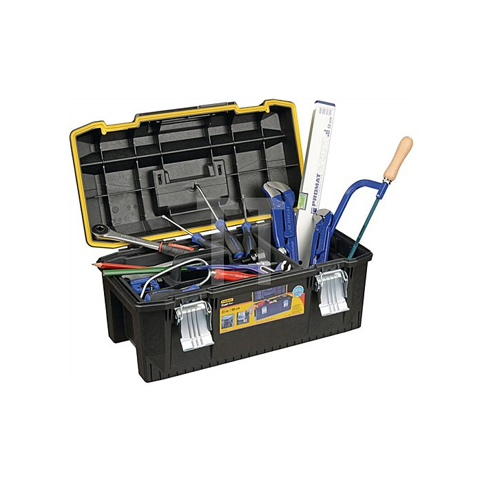 Werkzeugsortiment 50 tlg. f. Heizung/Sanitär im Ku. Koffer