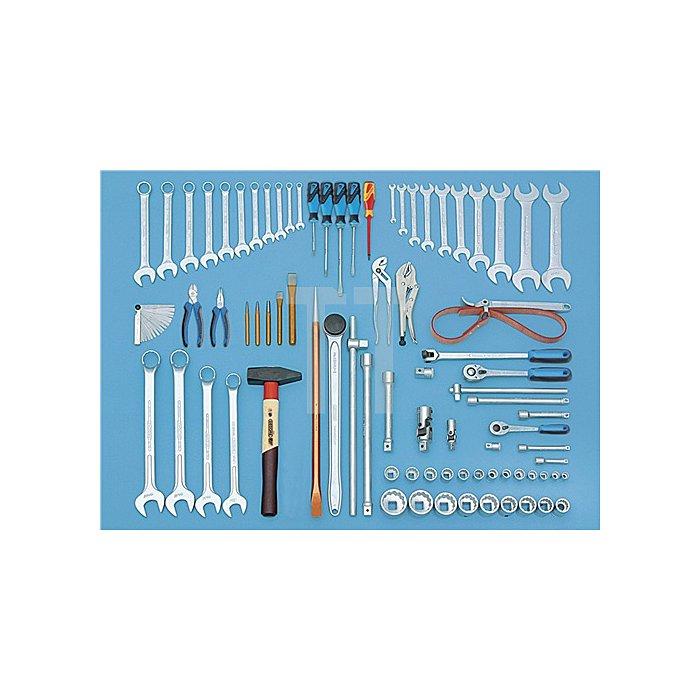 Werkzeugsortiment Baumaschinen 81-teilig ZOLL