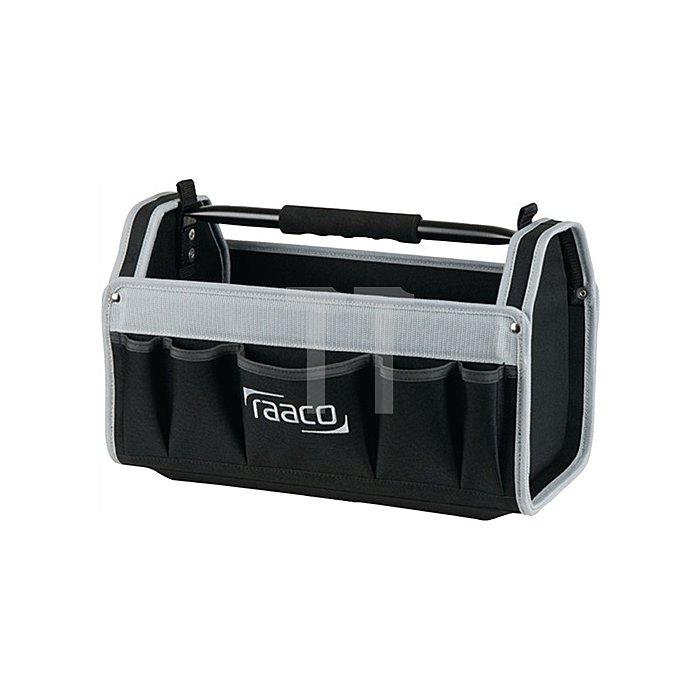 Werkzeugtasche B.419xT.206xH.264mm 16Zoll Open ToolBag innen u. außen Taschen