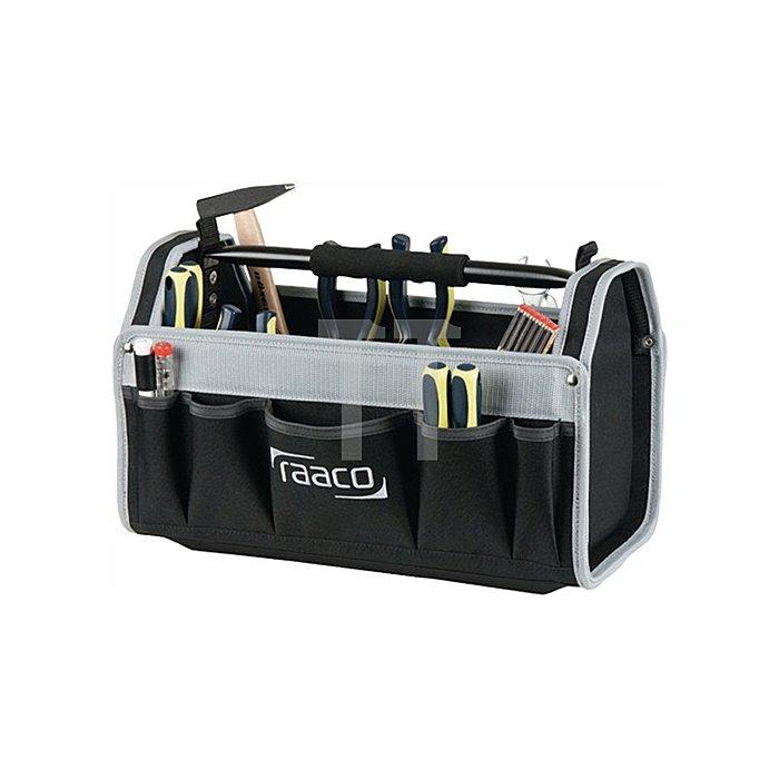 Werkzeugtasche B.510xT.203xH.285mm 20Zoll Open ToolBa ginnen u. außen Taschen