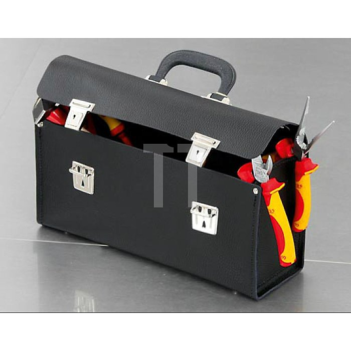 Werkzeugtasche Favorit 340 x 110 x 170mm aus hochwertigem Material  mit Schloss