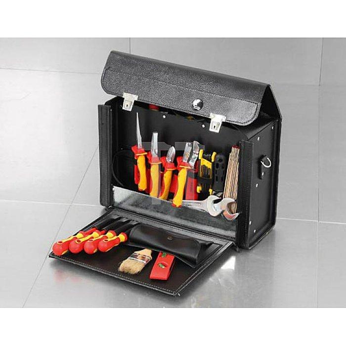 Werkzeugtasche Favorit 400 x 145 x 280mm aus hochwertigem Material mit Schloss