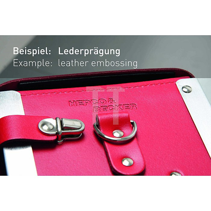 Werkzeugtasche Favorit 470 x 160 x 310mm aus hochwertigem Material mit Schloss