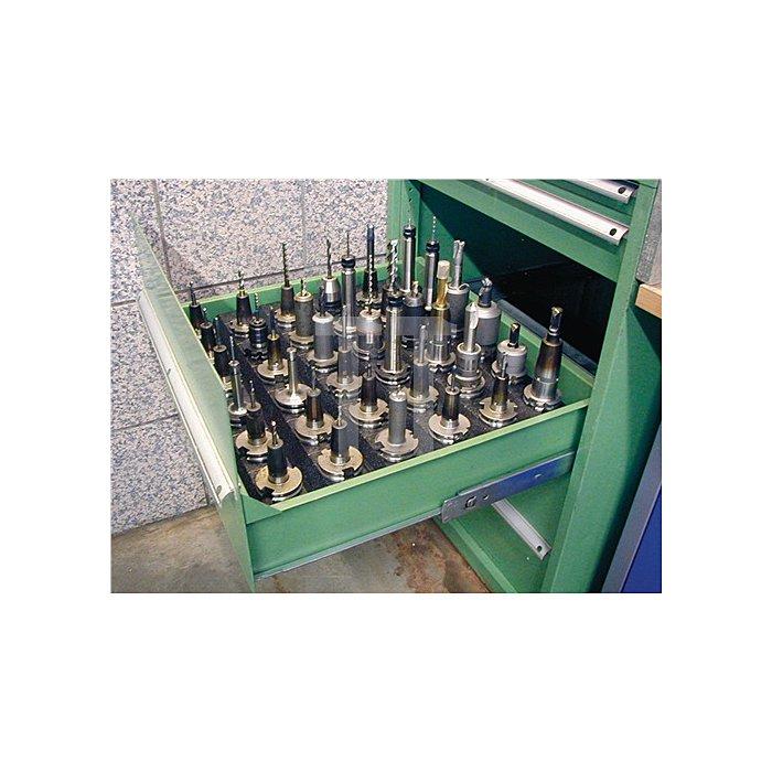 Werkzeugträger HSK63 a.PP kompakt 10er B.360xT.180xH.60mm