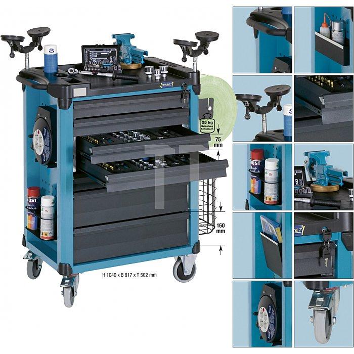 Hazet Werkzeugwagen, Material- & Montagewagen 178-7