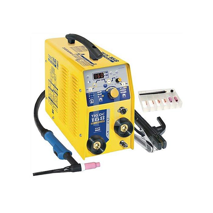 WIG-Schweissgerät TIG 168 DC HF 1x230V 10-160A kpl.ohne Druckminderer