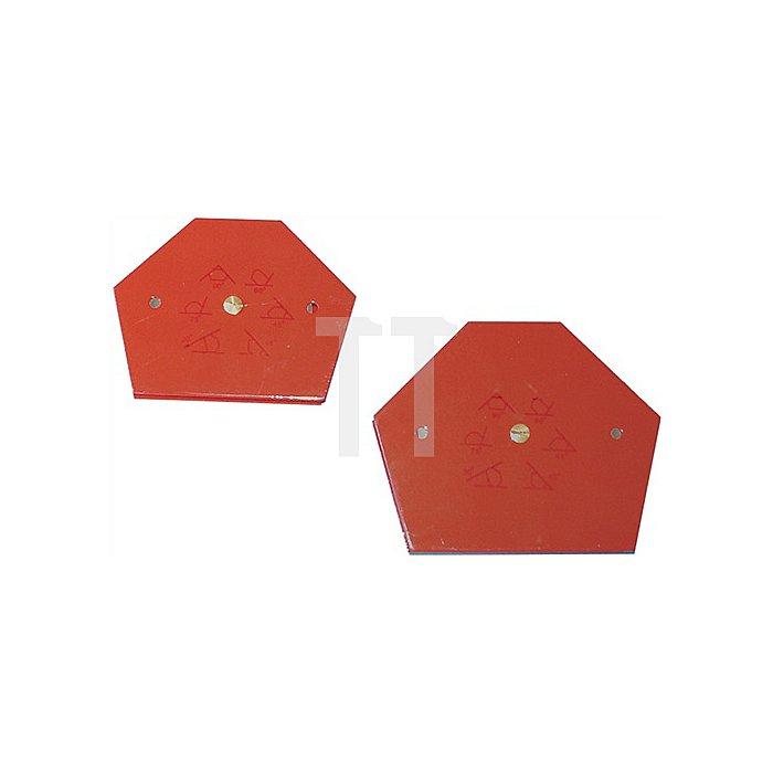 Winkelfixierger. magnet. Hafttkr. 11kg feste vorgegeb. Wink.30/45/60/75/90 Grad