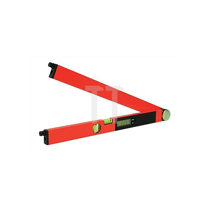 Winkelmessgerät L.605mm 2Lasermodule Laser-Winkeltronic NEDO 0,5mm/m genau