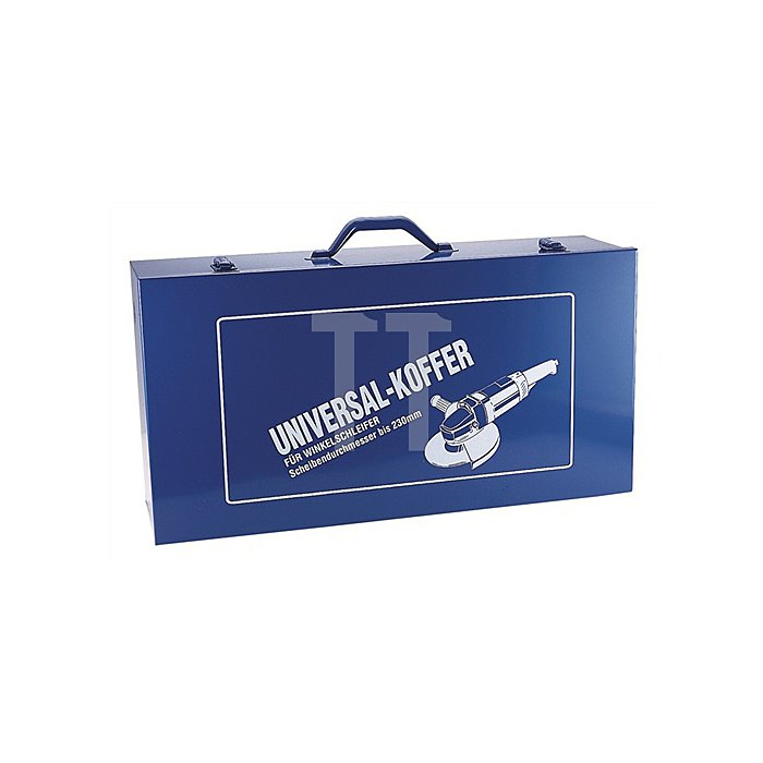 Winkelschleiferkoffer 620x320x165mm blau f.D.178/230mm Stahlblech