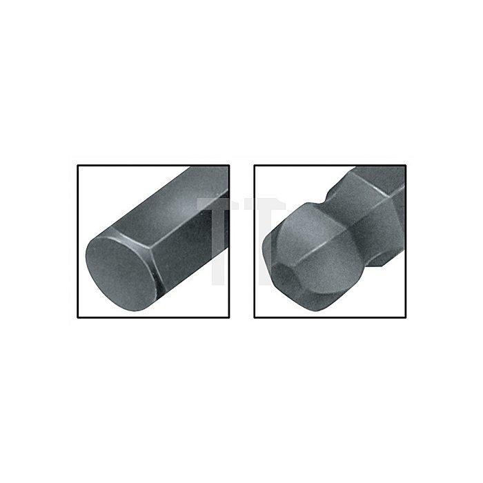 Winkelschraub.dr.Satz 7tlg.mit Kugelkopf und Magnetisiergerät 950PKL/7SM-Magnet