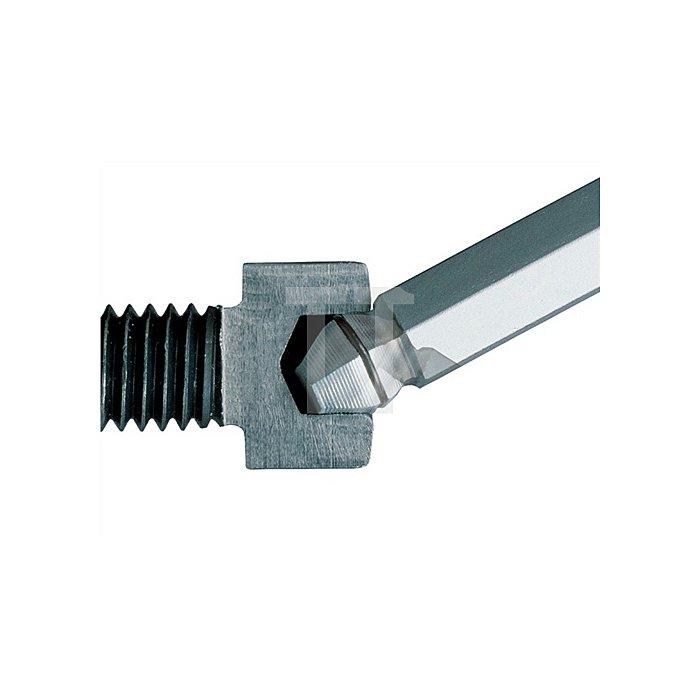 Winkelschraubendreher 6KT-Kugelkopf SW 3 L.128mm Festhaltefeder/Haltefunktion