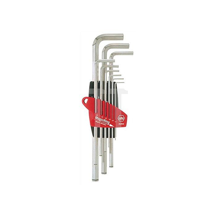 Winkelschraubendreher 6KT SW 14 L.70mm abgewinkelt Schlüsselenden gefast