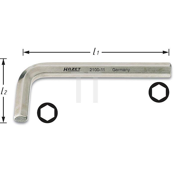Hazet Winkelschraubendreher s: 4.5mm 2100-045
