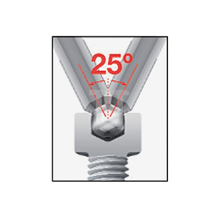 Winkelschraubendrehersatz 13tlg. 6KT-Kugelkopf 0,05-1/16-5/64-3/32 Klinge matt