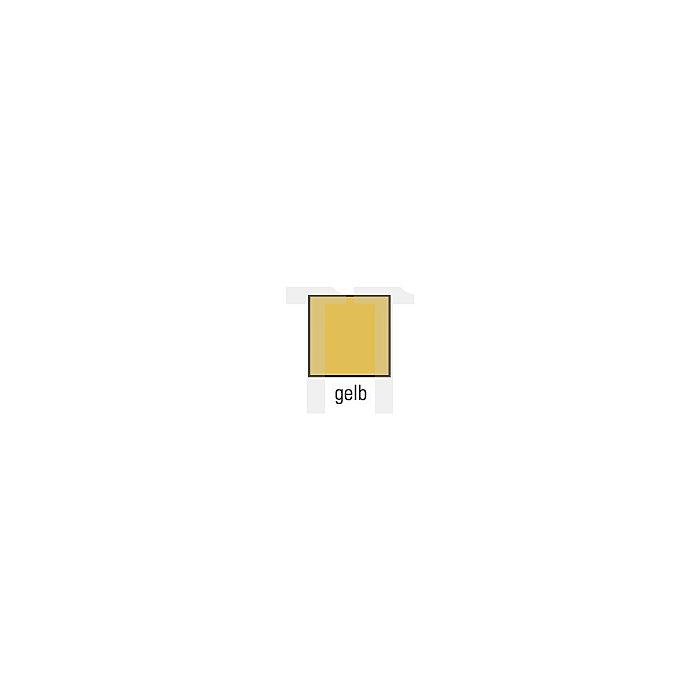 Winterbaulatzhose Gr.L gelb PU beschichtet CO-Gewebe DIN61536/EN343