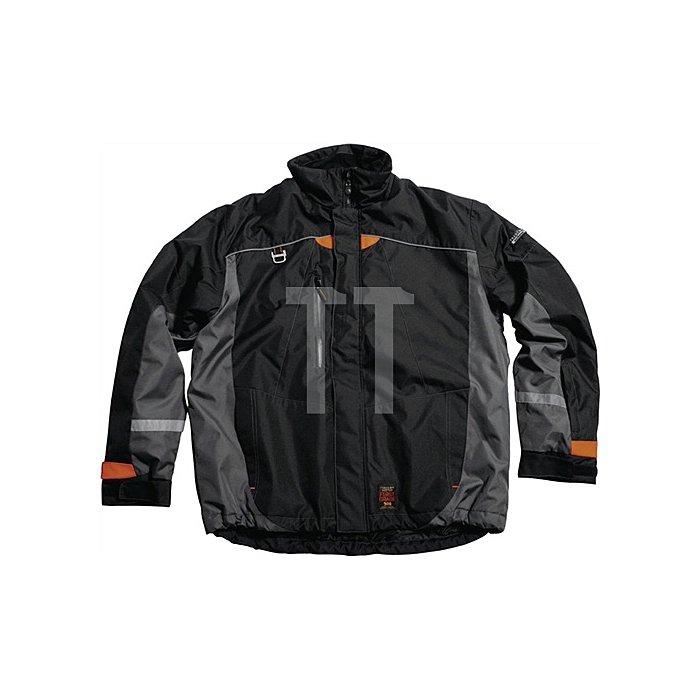 Winterjacke Firstgrade Gr.S schwarz/grau TRANEMO 100%PES
