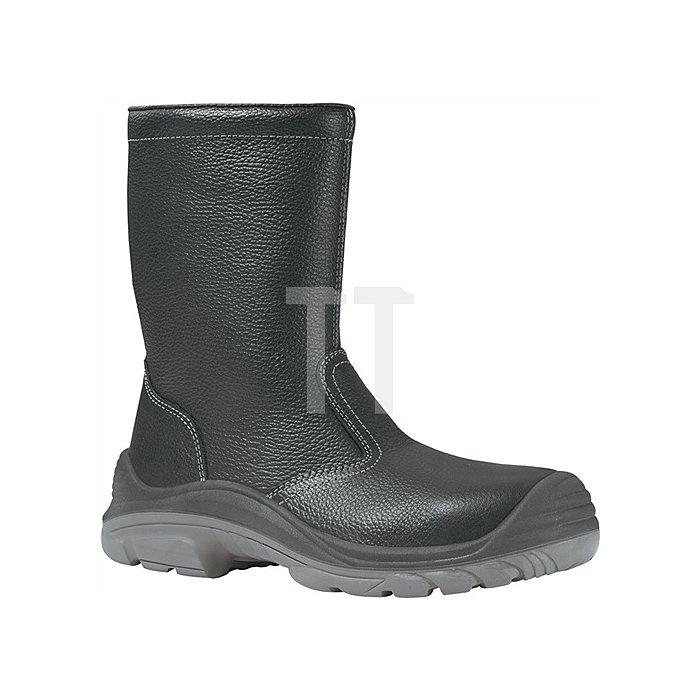 Winterstiefel EN 20345 S3 CI SRC Siberian Gr.45 Leder Webpelzfutter schwarz
